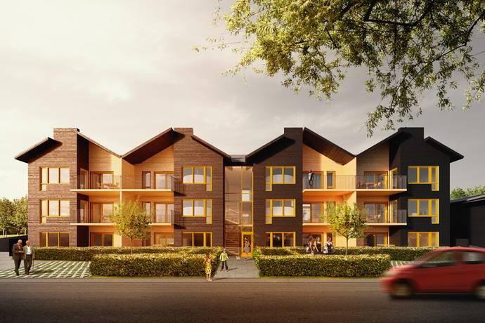 Bild: 2 rum bostadsrätt på Tunnlandsvägen 118 A-C, Jönköpings kommun Kaxholmen
