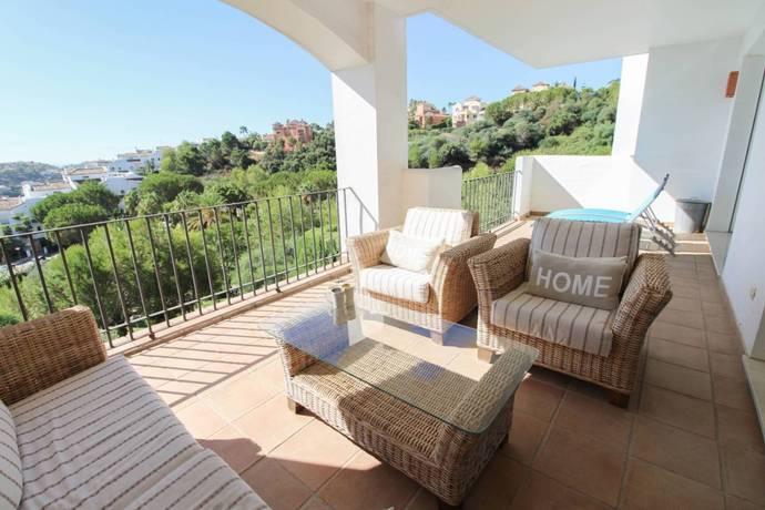 Bild: 3 rum bostadsrätt på Costa del Sol, Benahavis, Spanien