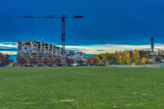 Bild: 3 rum bostadsrätt på Sandhamnsgatan 79, Stockholms kommun Gärdet