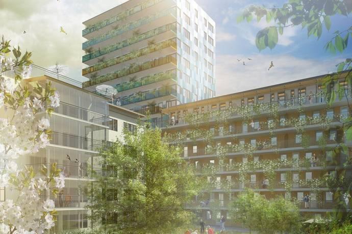 Bild: 3 rum bostadsrätt på Muréngatan 20, lgh A0701, Gävle kommun Söder