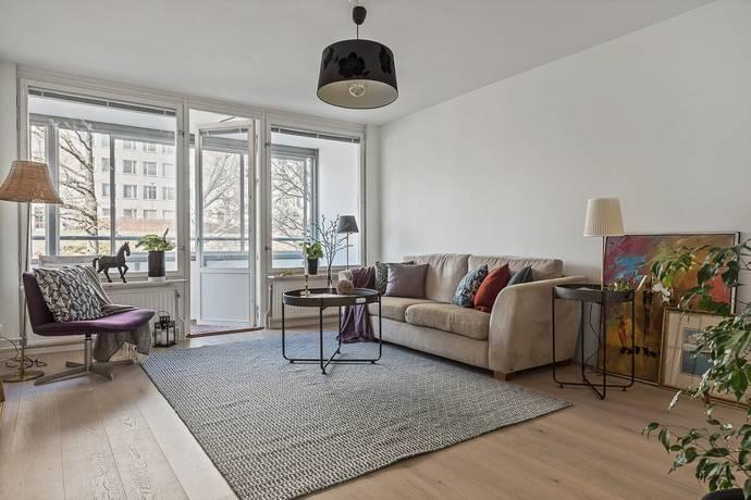Bild: 3 rum bostadsrätt på Mörbyleden 16, Danderyds kommun Mörbyskogen