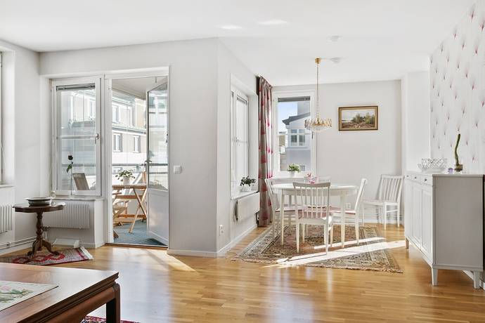 Bild: 3 rum bostadsrätt på Fatburs Kvarngata 12, Stockholms kommun Maria