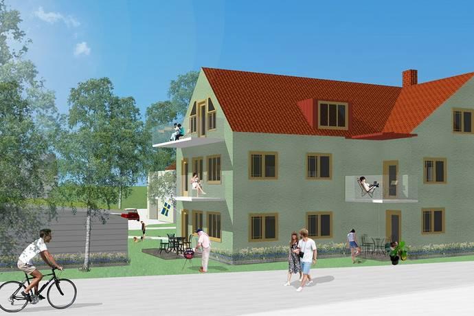 Bild: 3 rum bostadsrätt på Kanikegatan 7, Mjölby kommun Centralt