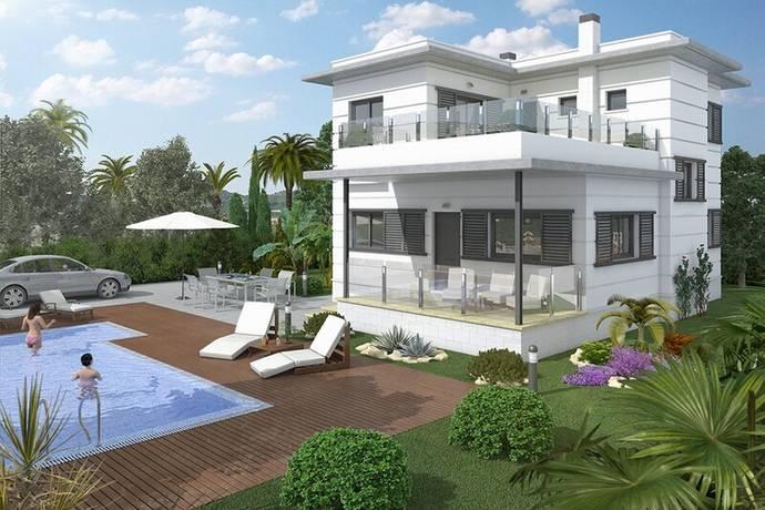 Bild: 6 rum villa på Stor villa med en stor pool, Spanien Ciudad Quesada - Costa Blanca