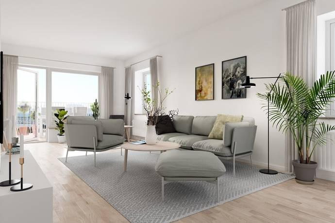 Bild: 3 rum bostadsrätt på Norra Månstorpsvägen, Höganäs kommun