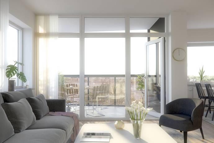 Bild: 3 rum bostadsrätt på Södra Strandvägen 22, Mjölby kommun Svartå Strand