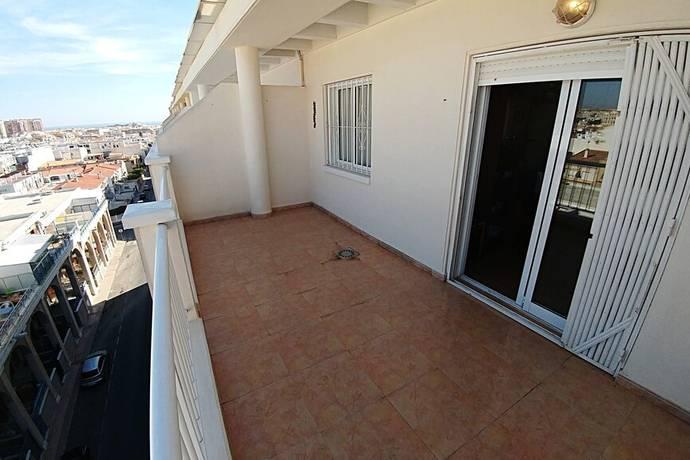Bild: 3 rum bostadsrätt på Garage / Förråd / Fin Pool, Spanien Takvåning med havsutsikt