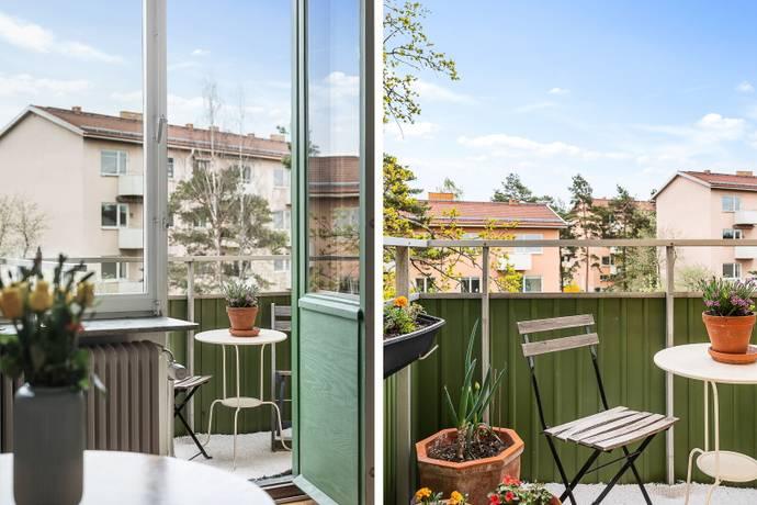 Bild: 2 rum bostadsrätt på Finn Malmgrens Väg 77, Stockholms kommun Hammarbyhöjden