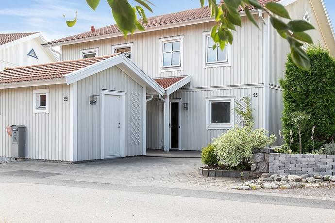 Bild: 4 rum radhus på Löparegatan 25, Strömstads kommun Odelsberg