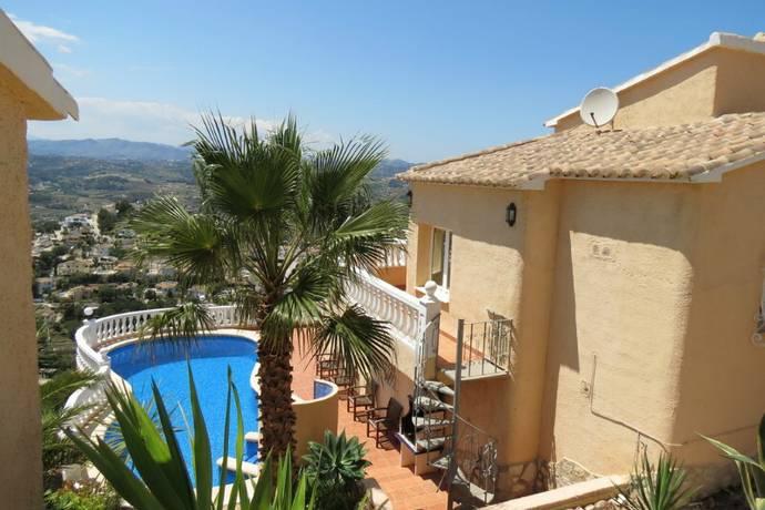 Bild: 8 rum villa på Magnifik villa i Cumbre del Sol, Spanien Cumbre del Sol