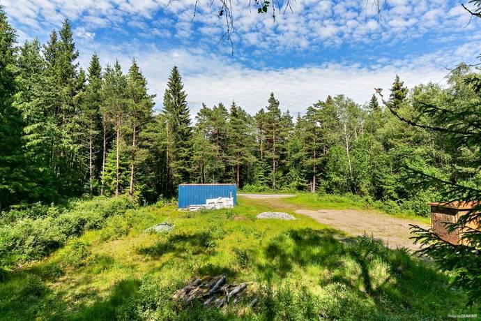 Bild: tomt på Pålsbo, Borås kommun Bäckabo