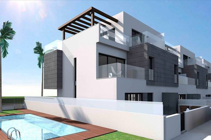 Bild: 3 rum bostadsrätt på Lägenhet med egen trädgård, Spanien Villamartin, Costa Blanca