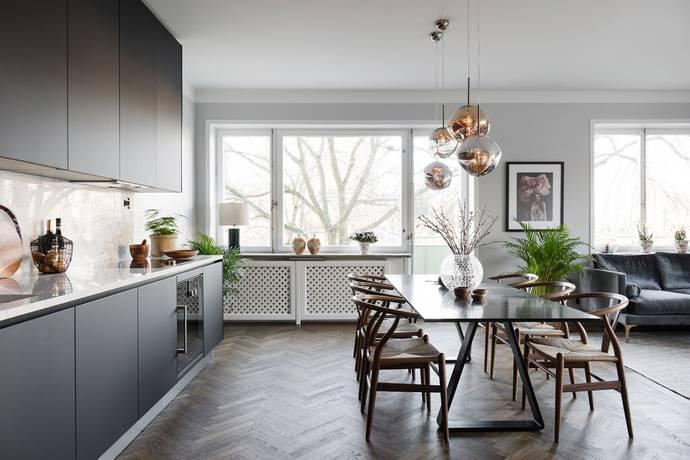 Bild: 3 rum bostadsrätt på De Geersgatan 16, 2 tr., Stockholms kommun Gärdet - Tessinparken