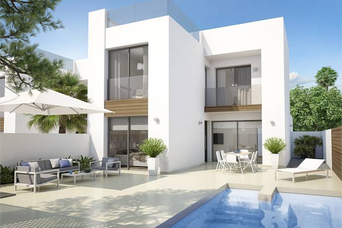 Bild: 4 rum villa på Nybyggda villor i Benijofar!, Spanien Ciudad Quesada | Torrevieja