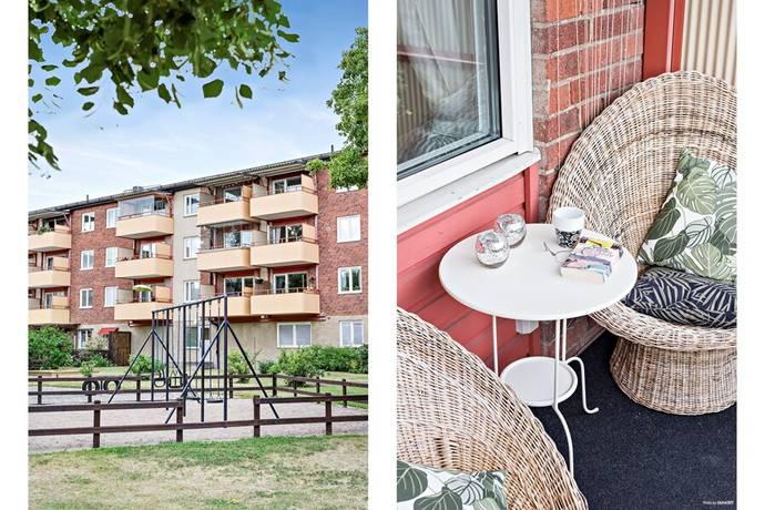 Bild: 2 rum bostadsrätt på Gunnilbogatan 28 B, Västerås kommun Malmaberg