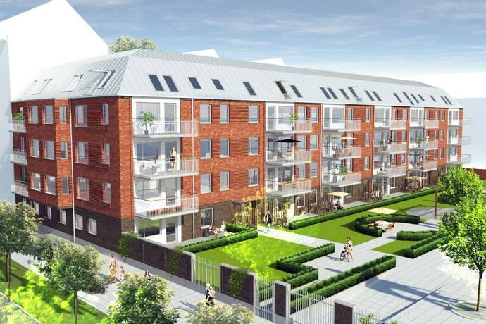 Bild: 3 rum bostadsrätt på Bertrandsgatan, Malmö kommun Rörsjöstaden