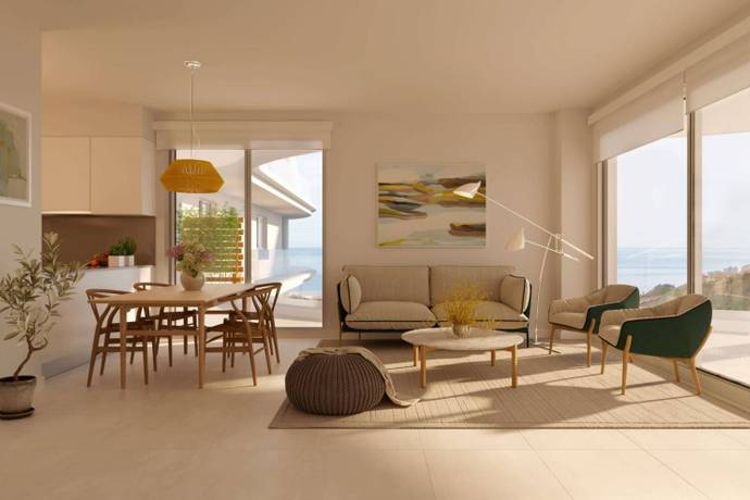 Bild: 4 rum bostadsrätt på Costa del Sol, Fuengirola, Spanien