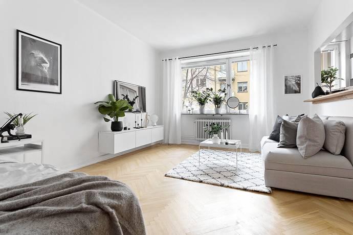 Bild: 1 rum bostadsrätt på Fleminggatan 45, Stockholms kommun Kungsholmen