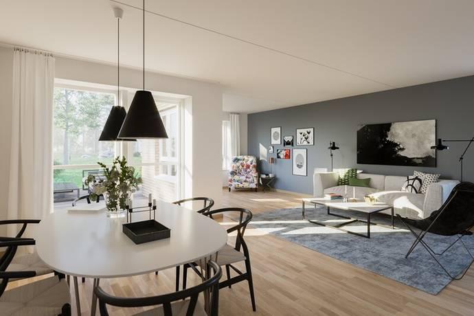Bild: 5 rum villa på Friabadenvägen 13, Ängelholms kommun Parallelltrapetsen, Havsbaden