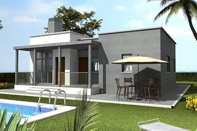 Bild: 3 rum villa på Privata villor i modern stil, Spanien Calasparra - Costa Calida