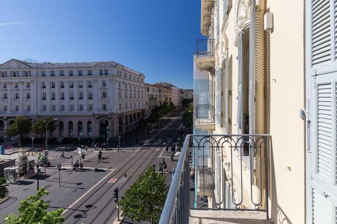 Bild: 2 rum bostadsrätt på Nice, Frankrike Franska Rivieran