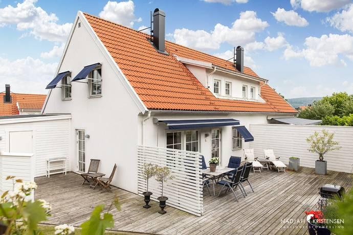 Bild: 4 rum radhus på Hagalundsgatan 15, Båstads kommun Båstad centralt