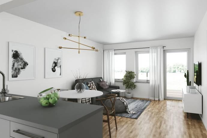 Bild: 3 rum bostadsrätt på Gårdsåkersvägen 2-12, Varbergs kommun Tvååker