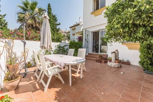 Bild: 5 rum radhus på EL COTO-Rymligt radhus med flera terrasser i familjärt område, Spanien Mijas Costa