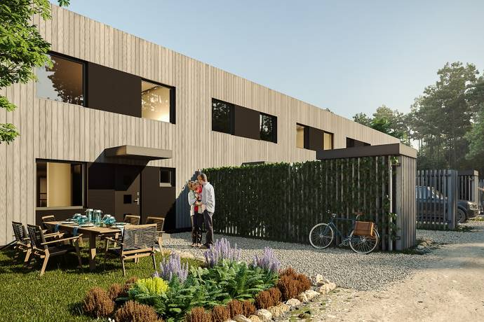 Bild: 5 rum radhus på Emils Backe Hus 2, Trosa kommun Tureholm