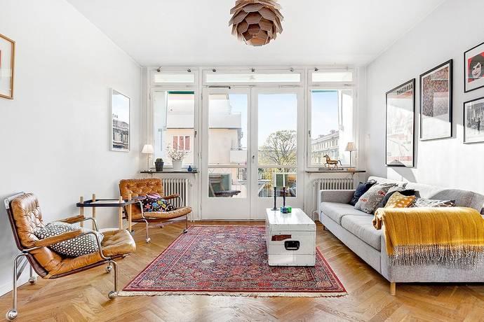 Bild: 3 rum bostadsrätt på Armfeltsgatan 20, Stockholms kommun Östermalm / Nedre Gärdet