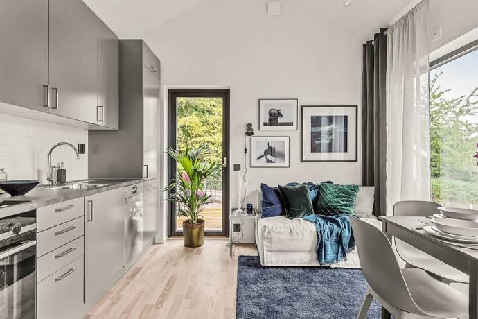 Bild: 1 rum bostadsrätt på Granitvägen 55, Täby kommun Viggbyholm