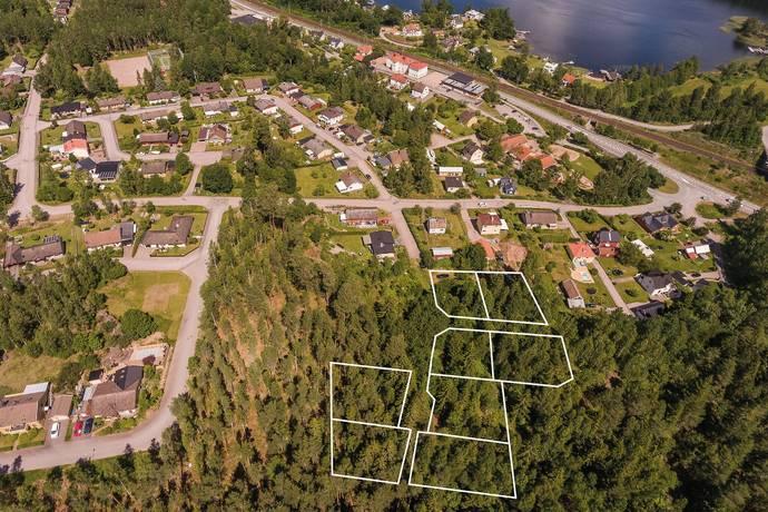 Bild: tomt på Solvägen 1B, Tranås kommun