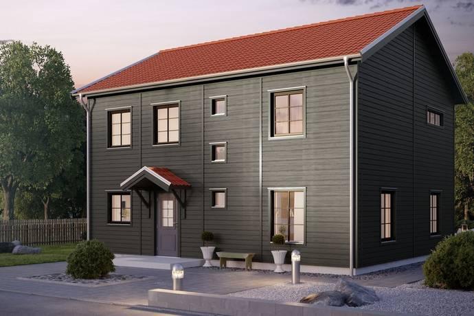 Bild från Centralt - Norra IP - 5 nyproducerade Myresjöhus