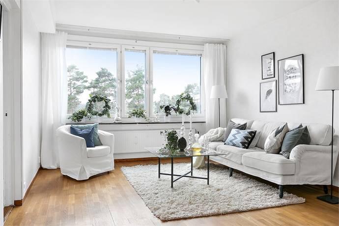 Bild: 3 rum bostadsrätt på Skrakgränd 11, 3 tr, Stockholms kommun Fagersjö