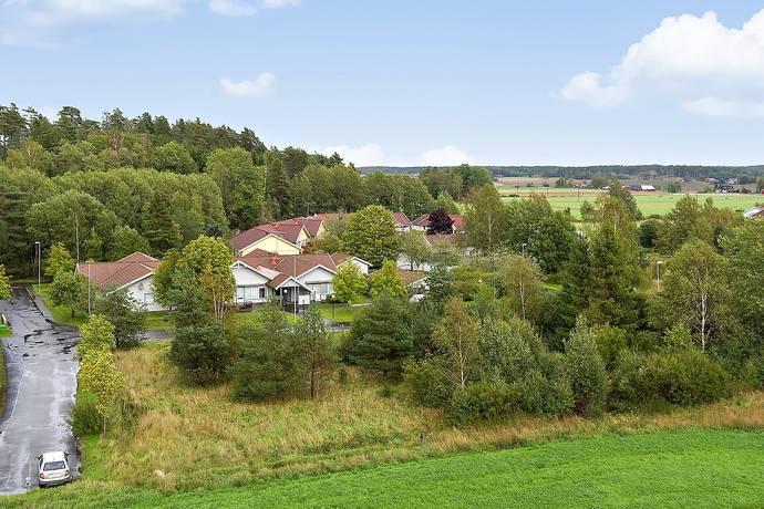 Bild: tomt på Korngatan 2, Alingsås kommun Sollebrunn
