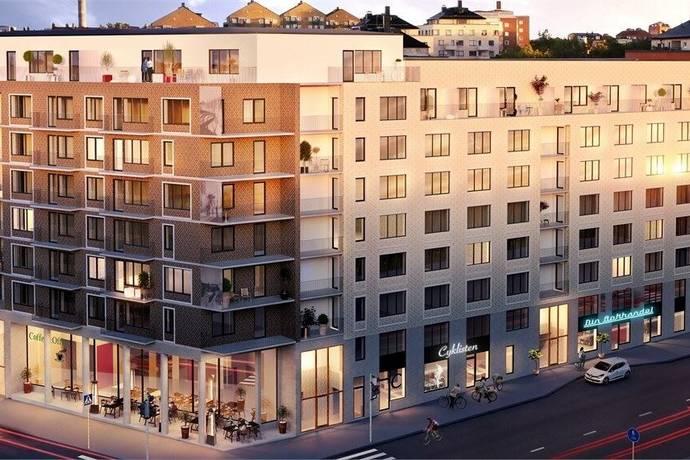 Bild: 1 rum bostadsrätt på Gränsgatan 26, 1 tr, Solna kommun Råsunda
