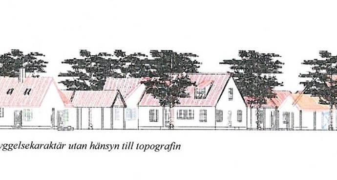 Bild: tomt på Härslöv tomter, Landskrona kommun Rusthållargården - Härslöv