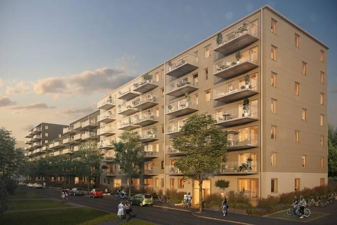 Bild: 4 rum bostadsrätt på Munspelsgatan, Göteborgs kommun Frölunda