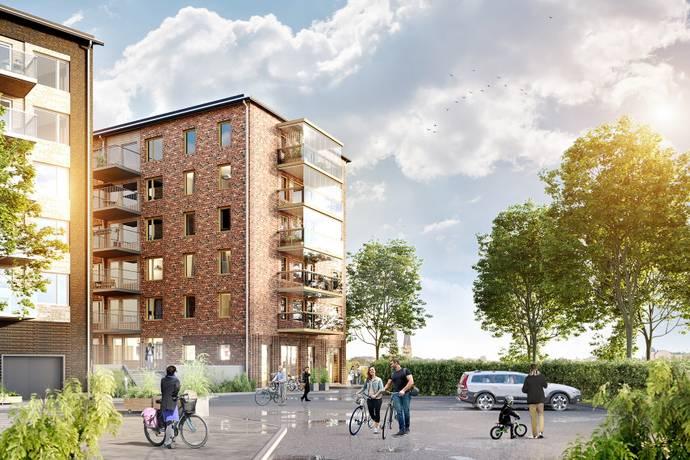 Bild: 3 rum bostadsrätt på Otto Myrbergs väg 2D, Uppsala kommun Rickomberga
