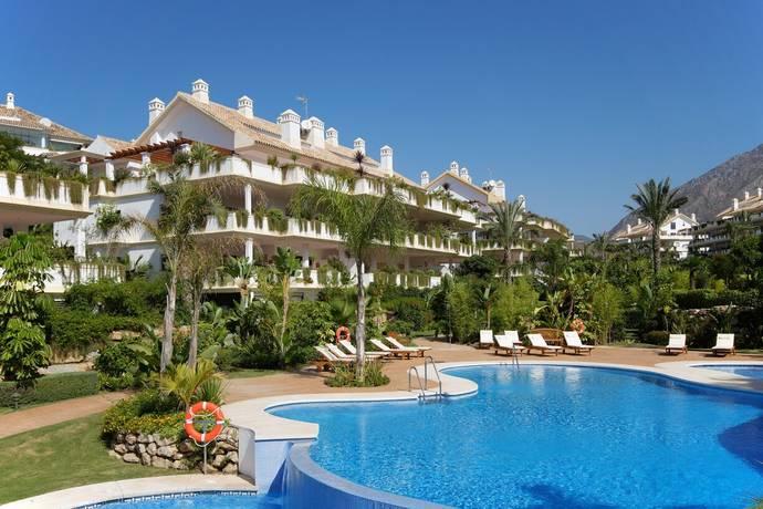 Bild: 4 rum bostadsrätt på Golden Mile Marbella, Spanien Marbella