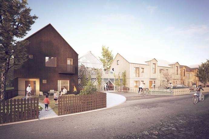 Bild: 5 rum bostadsrätt på Bengt Rehns väg, Växjö kommun Torparängen