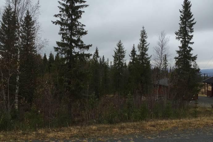 Bild: tomt på Bratteggen Lunnarvägen 1, Åre kommun Bratteggen