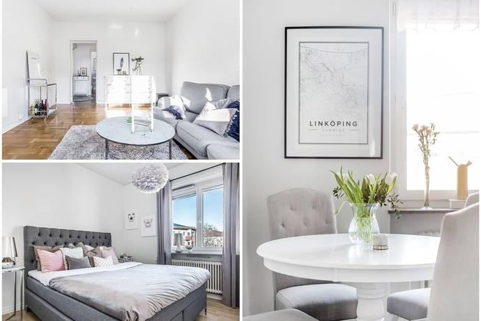 Bild: 2 rum bostadsrätt på Sturegatan 12, Linköpings kommun Vasastaden