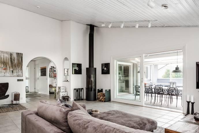 Bild: 4 rum villa på Gretas Gränd 10, Halmstads kommun Frösakull
