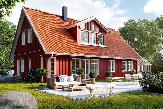 Bild: 156 m² villa på Jansens Väg 2A, Kungsbacka kommun Frillesås