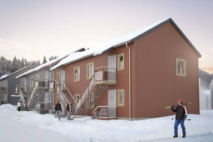 Bild: 3 rum bostadsrätt på Gullbrändsgatan 1216, lgh 1005, Malung-Sälens kommun Kläppen