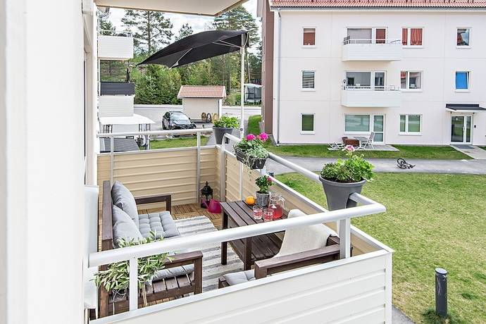 Bild: 3 rum bostadsrätt på Hangarvägen 7, Botkyrka kommun Rikstens Friluftsstad