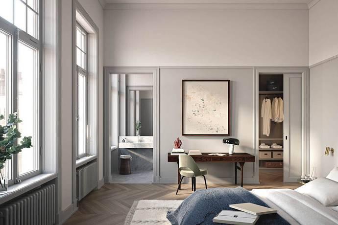 Bild: 5 rum bostadsrätt på Nybrogatan 19, Stockholms kommun Östermalm