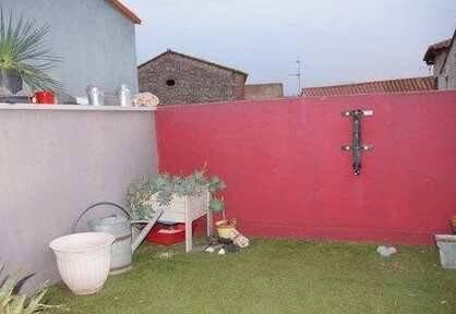 Bild: 3 rum radhus på Theza, söder om Perpignan, Frankrike Languedoc - Roussillon