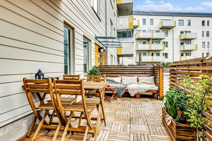 Bild: 4 rum bostadsrätt på Våtmarksvägen 62, Solna kommun Järvastaden